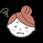 気が休まらない、眠れない。