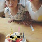 こどもの誕生日 天使の4歳児?