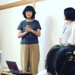 河合蘭さんの茶話会に参加しました。